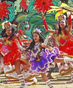 "BAGUIO CITY (Feb.. 1, 2018) --  Street dancers display full bravado amidst the color and pomp during the opening of the 23rd year edition of the Baguio Flower Festival or Panagbenga (A Time To Bloom), perhaps the country's most-awaited festival luring hundreds and thousands of revelers to the mountain city.  This year's theme:  A celebration of culture and creativity"", wants to closely weave Baguio's unique cosmopolitan mix of culture and creativity of its people.    Baguio City was recently included in the UNESCO Creative Cities Network for Crafts and Arts, the first city in the country included in that prestigious accolade.***Artemio A. Dumlao"