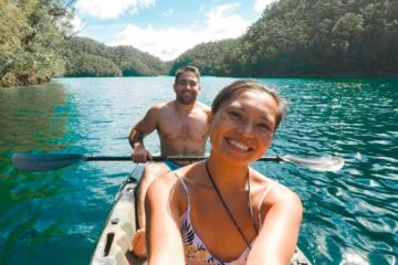 Kayaking in Siargao