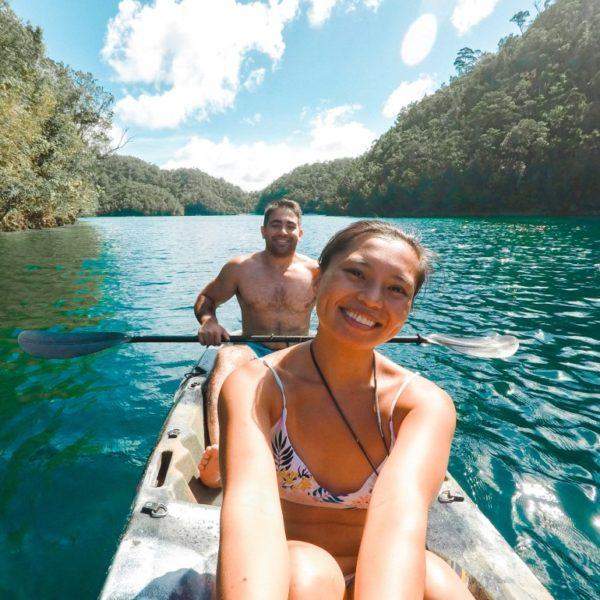 Kayaking in Siargao